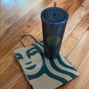 🆕 Starbucks Fall 2020 Black Studded Tumbler.